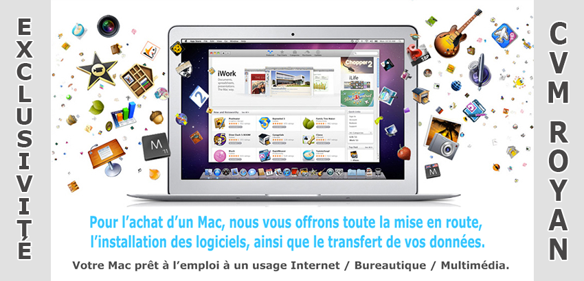 Exclu Apple Royan
